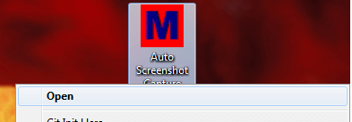 Auto Screenshot Capture with Desktop Shortcut