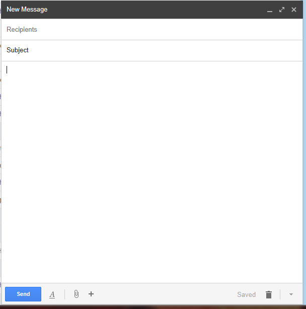 Compose New email Message with GMail