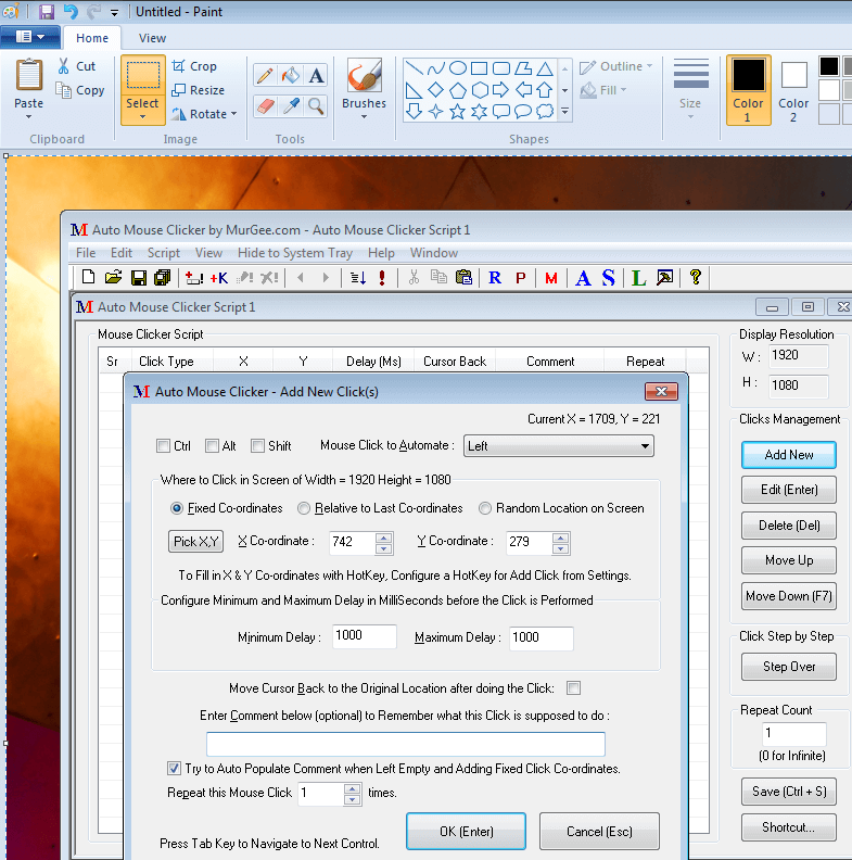 Screenshot from Clipboard of Windows 7 in Microsoft Paint Program